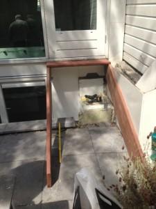 Hardhouten trap foto 2