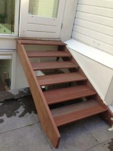 Hardhouten trap foto 3
